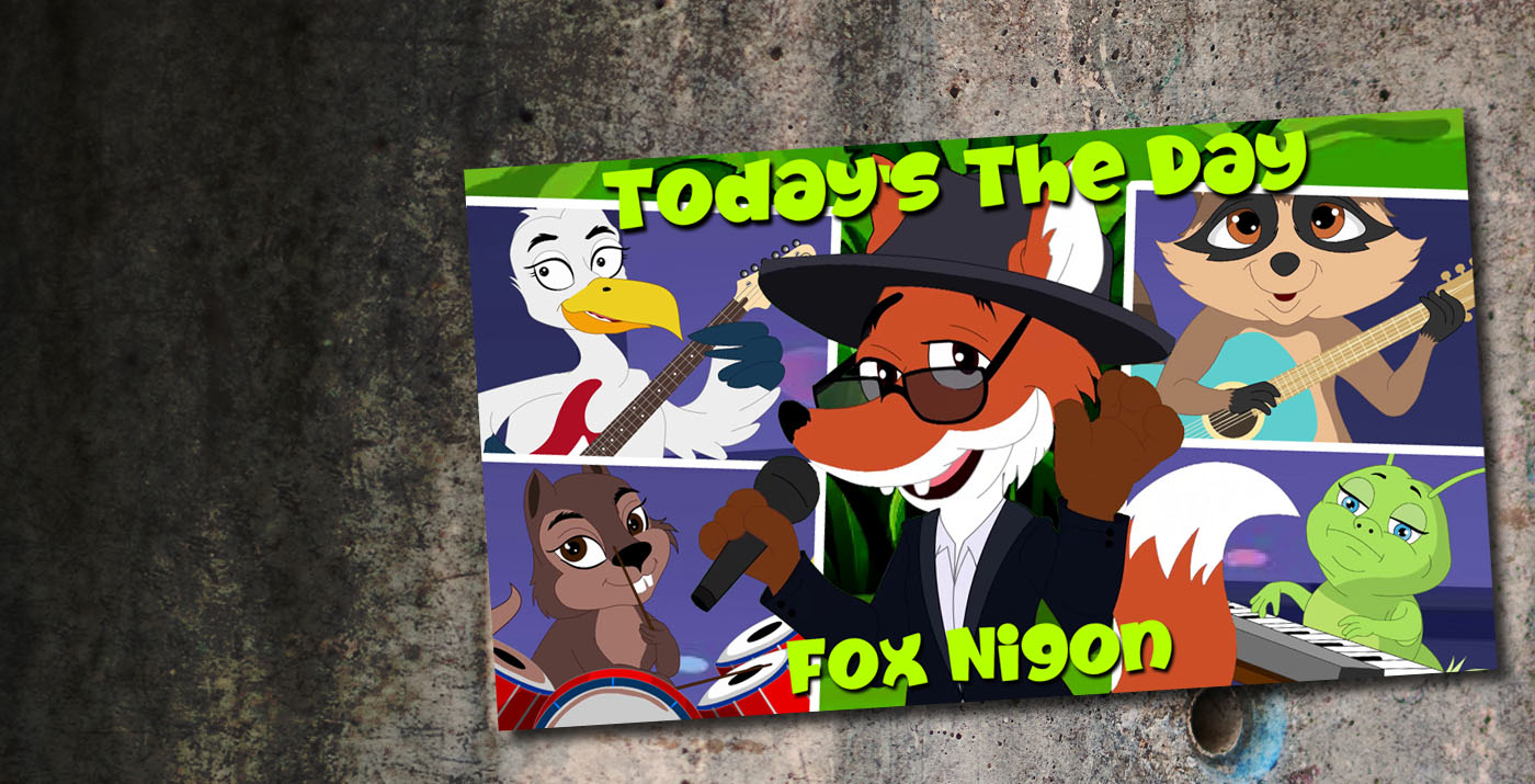 Fox Nigon - Nouveau single : Today's the Day